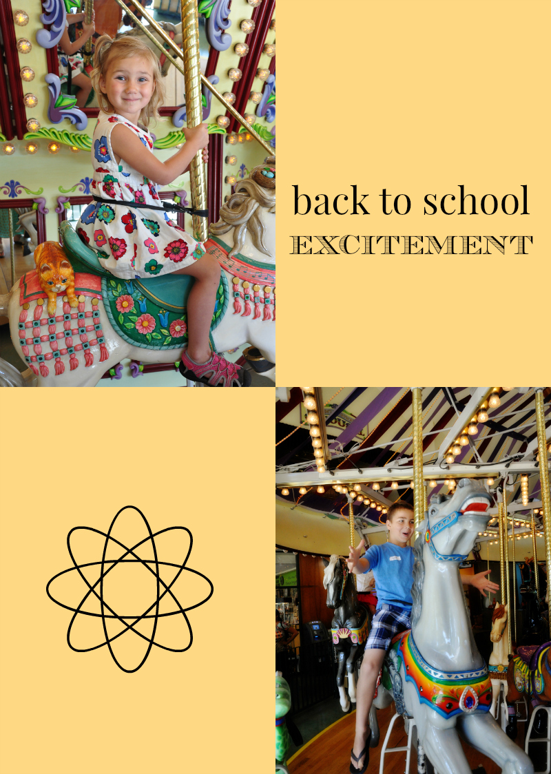 back to school excitement