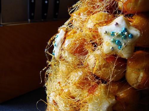 Making of Croquembouche: Spun Sugar & Sugar Cookie Stars