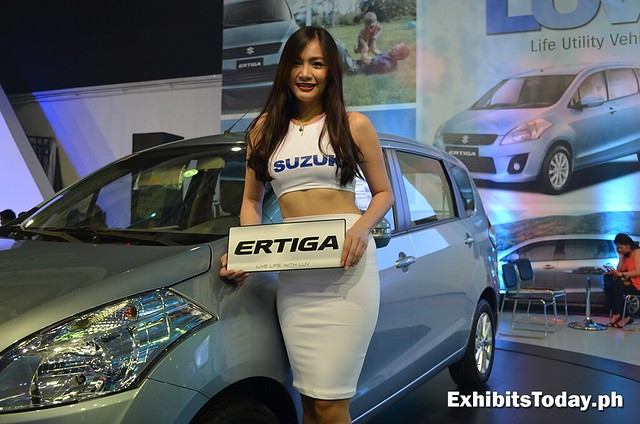 Suzuki Ertiga with model