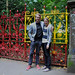John and I at Strawberry Field by sarahsampsel
