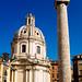 Santa Maria Di Loretto and Trojan Column