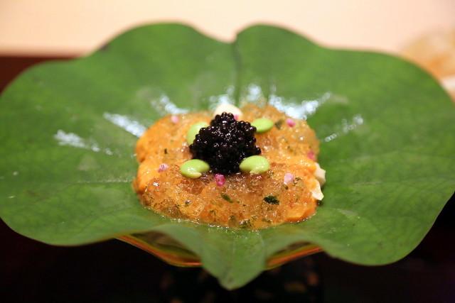 Hokkaido Uni and Caviar
