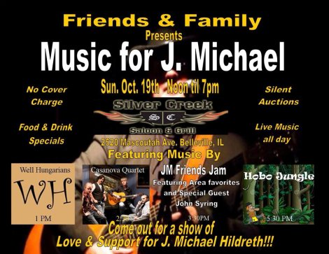 J. Michael Hildreth Benefit 10-19-14