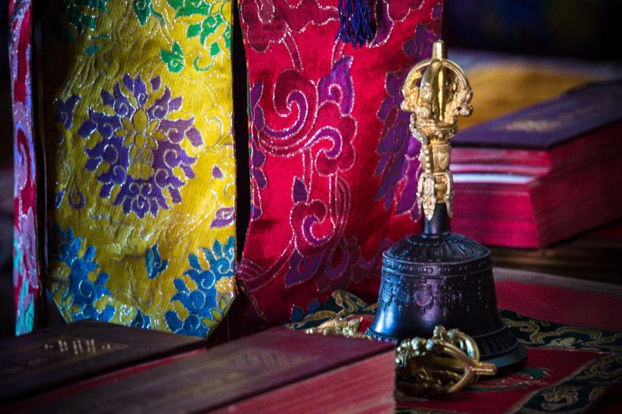 """""""Рабочее место"""" монаха. . Монастыри Ладакха (Монастыри малого Тибета) © Kartzon Dream - авторские путешествия, авторские туры в Ладакх, тревел фото, тревел видео, фототуры"""