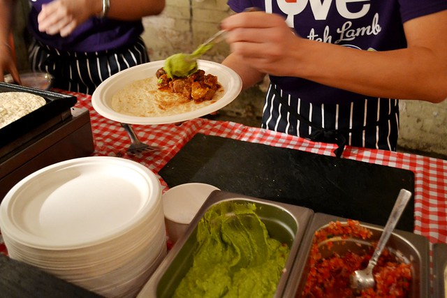 Street food in Glasgow