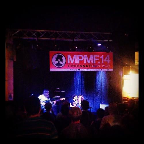 Mr. Elevator and the Brain Hotel @MOTRPub @MidpointMusic with @genmae5 #MPMF #MPMF14