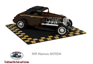 Marmon SIXTEEN Roadster - 1931 (Hot Rod Garage of Oklahoma)