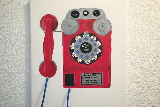 Vintage Phone Painting