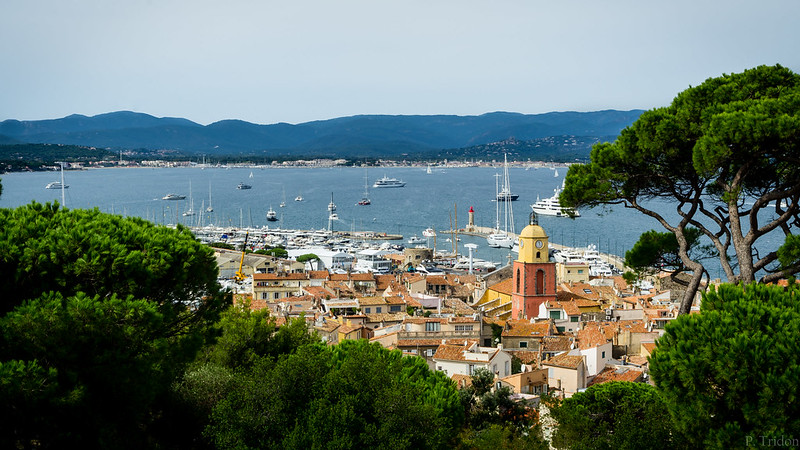 Saint-Tropez, vue depuis sa citadelle