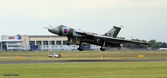 doncaster sheffield robin hood airport and vulcan XH588