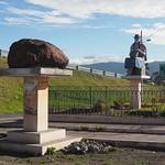 Mo, 15.06.15 - 16:16 - Was diese Skulptur wohl aussagen soll?