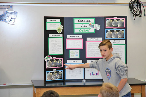 science fair project presentations gaston christian school