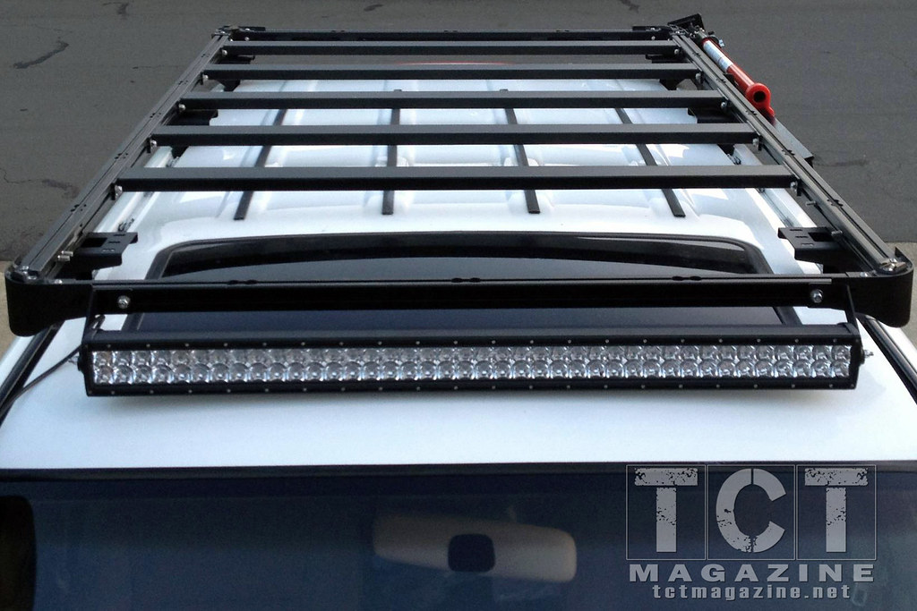 Review Labrak 100 Series Roof Rack Toyota Cruisers
