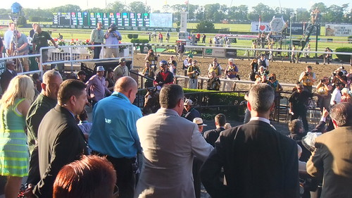 #SnapShot | #Tonalist In Winner's Circle After Winning The #BelmontStakes