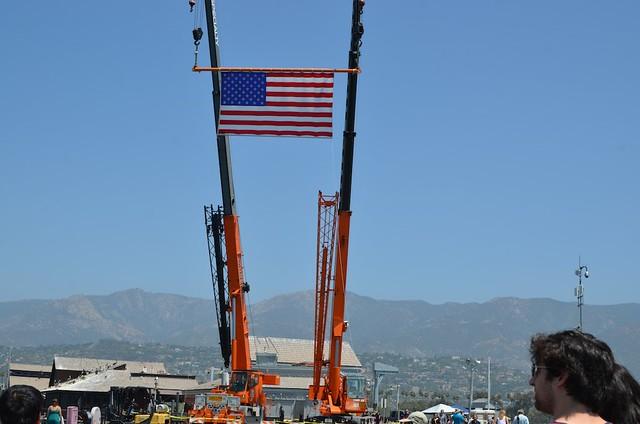Welcoming the USS Ronald Reagan, Santa Barbara