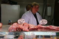 meat, food, butcher, person, retail-store,