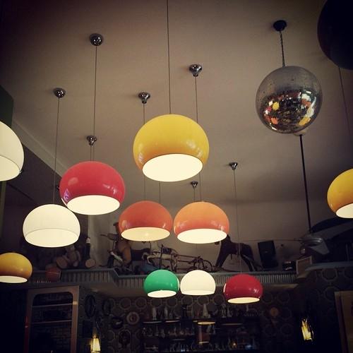 Lampjes. Kleurkes.