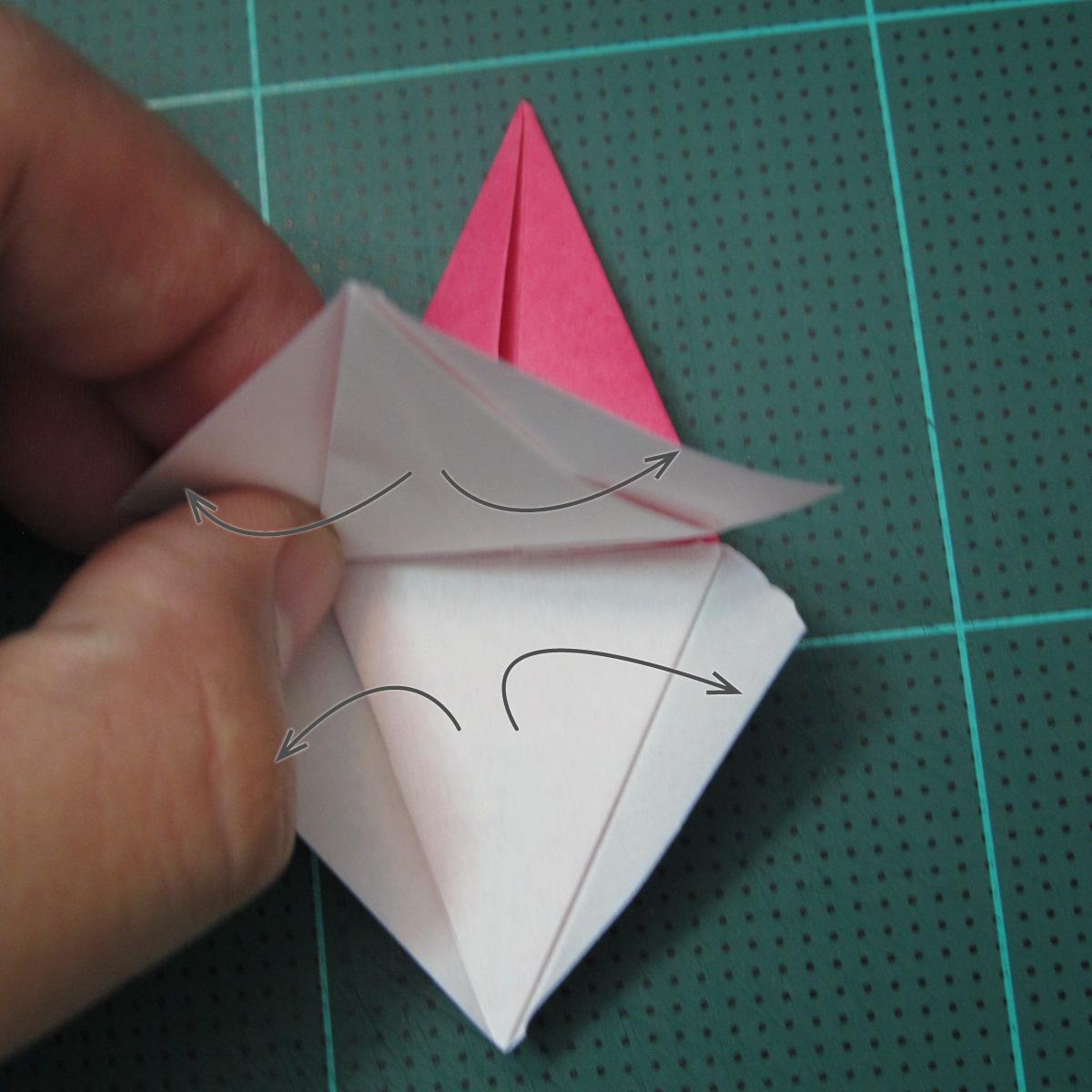 การพับกระดาษแบบโมดูล่าเป็นดาวสปาราซิส (Modular Origami Sparaxis Star) 010