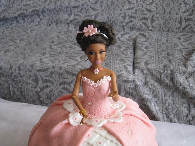 Tarta Naiara - Barbie Nikki
