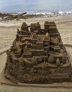 Image of Playa de la Fontanilla near Marbella. beach costadelsol marbella