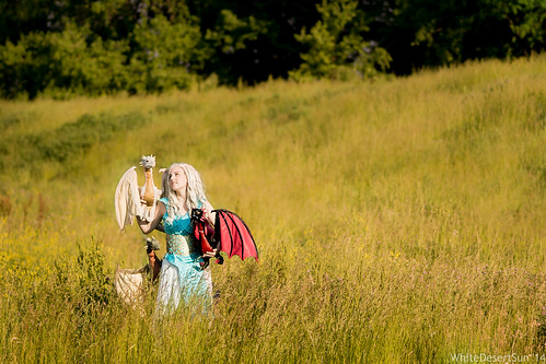 sunset game field costume pretty cosplay courtney dragons convention coming con thrones daenerys 2014 colossalcon are courtoon targaryen