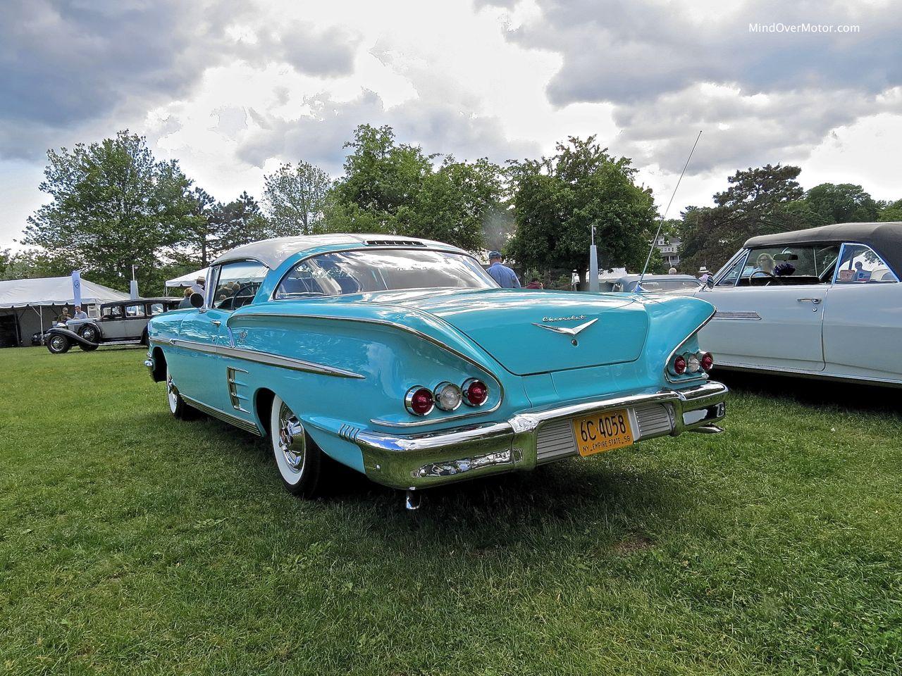 1958 Chevrolet Impala Rear 2
