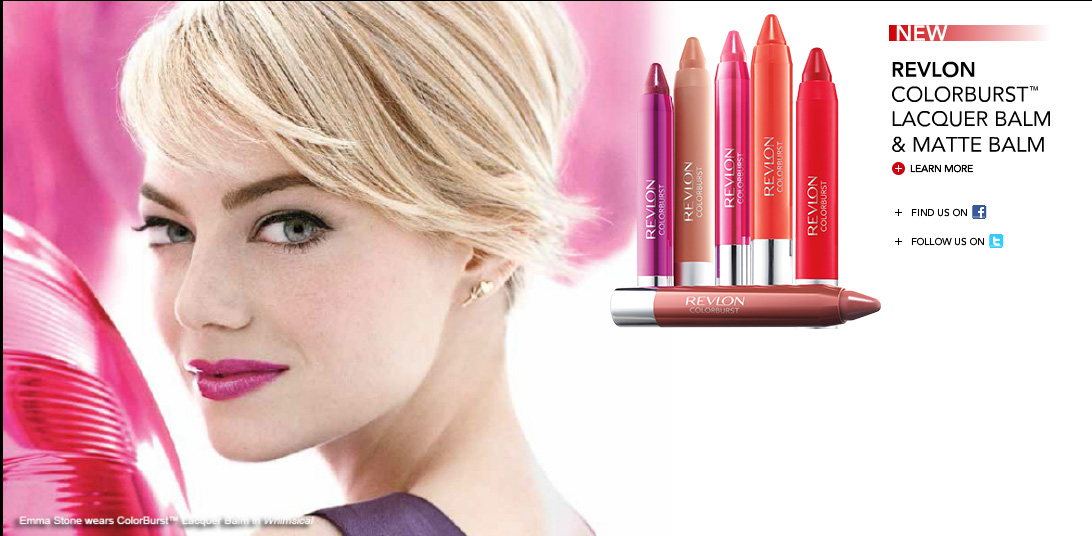 revlon colorburst ad