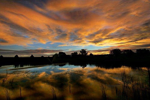 sunset newmexico water clouds sunrise reflections lumix wideangle panasonic mm f4 714