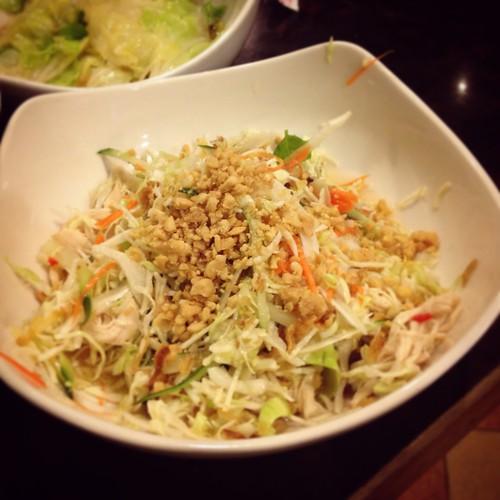 Vietnam cuisine-涼拌雞絲