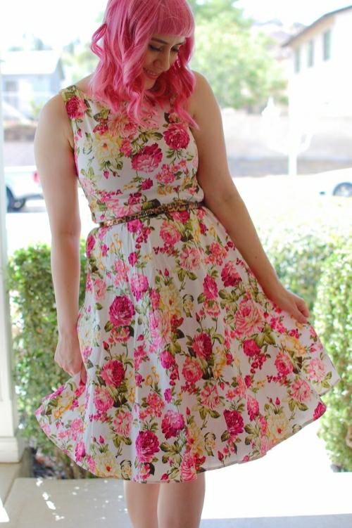 pink floral 5