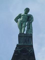 Herkules blickt über Kassel