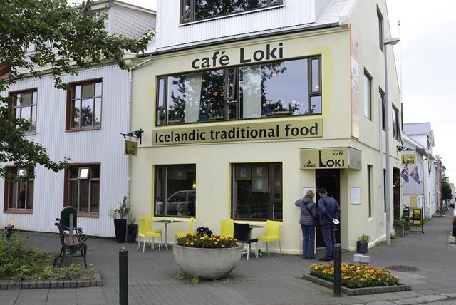 Reykjavík: Cafe Loki