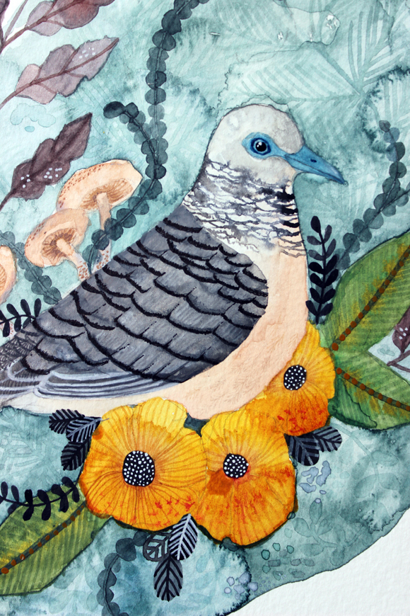 Peace Dove detail