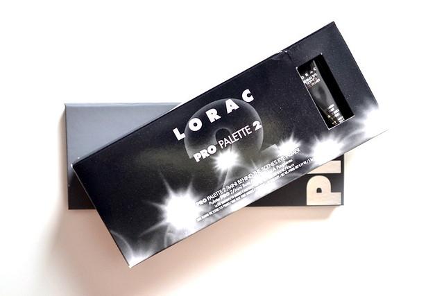 LORAC Pro Palette 2 packaging