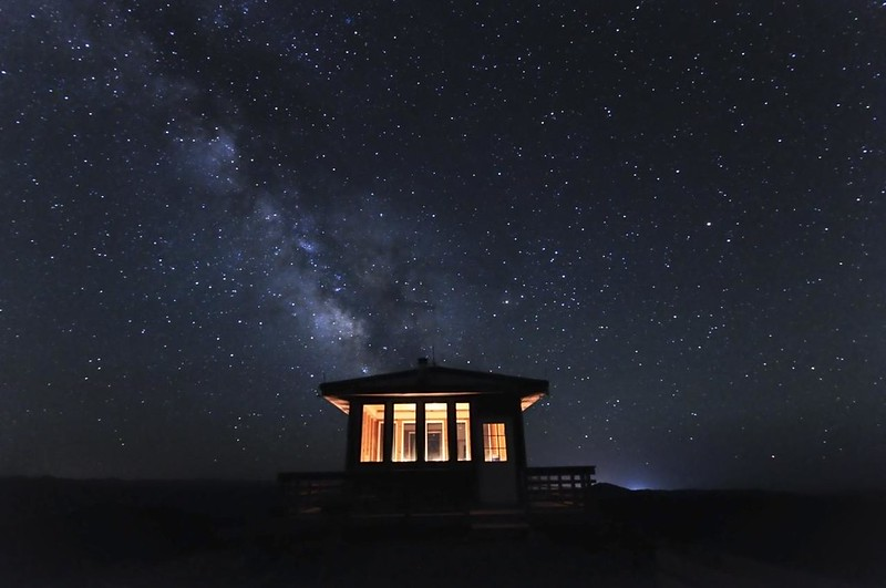Night at the lookout
