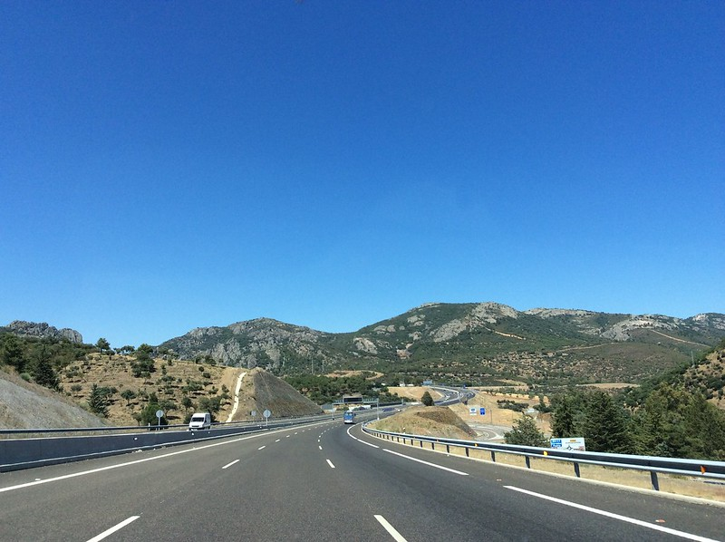 Jerez to Barcelona driving adventure