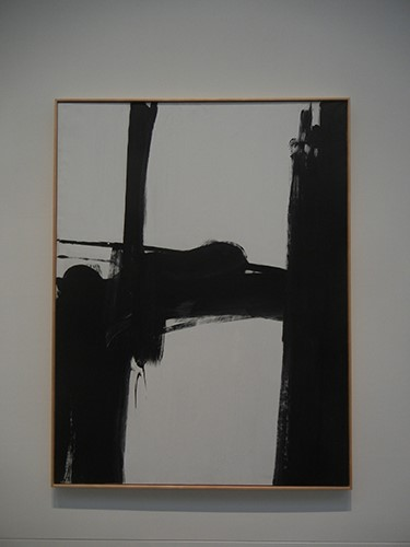 DSCN1281 _ Black and White No. 2, 1960, Franz Kline,  Blanton Museum, Austin