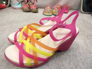 huarache sandal wedge w