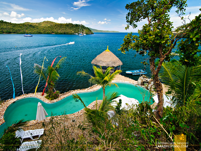 The Infinity Pool at Puerto Del Sol Resort in Palawan