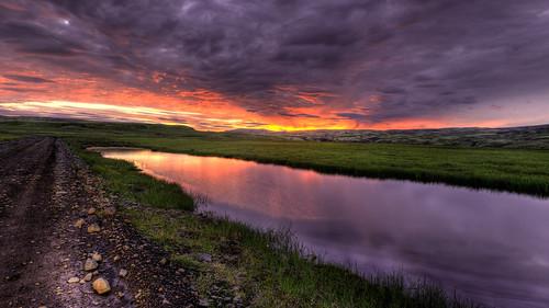 sunset canon iceland south hdr 6d kirkjubæjarklaustur
