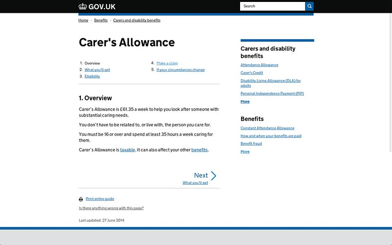 GOV.UK consistent not uniform
