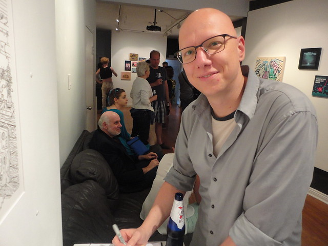 Enzi at hashtag gallery 3 July 2014