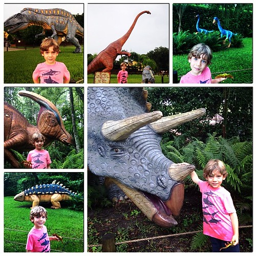 Finn's fantasy location: Dinosaur World