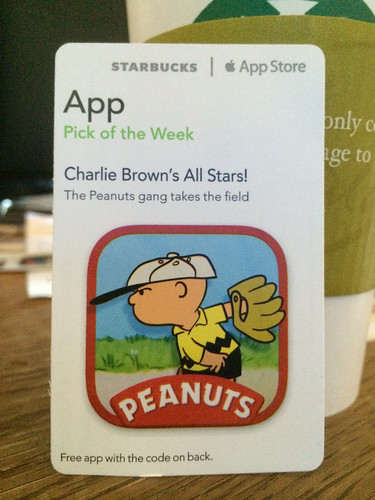 Starbucks iTunes Pick of the Week - Charlie Brown's All Stars!