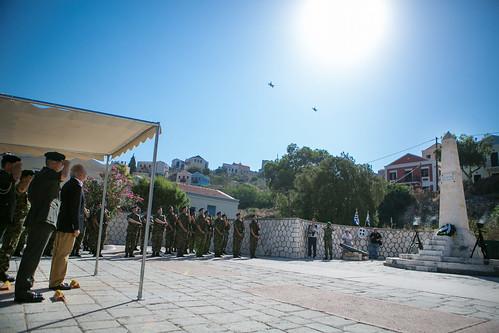 Ολοκλήρωση Επίσκεψης ΥΕΘΑ Δημήτρη Αβραμόπουλου στην 95 ΑΔΤΕ – Χαιρετισμός ΥΕΘΑ