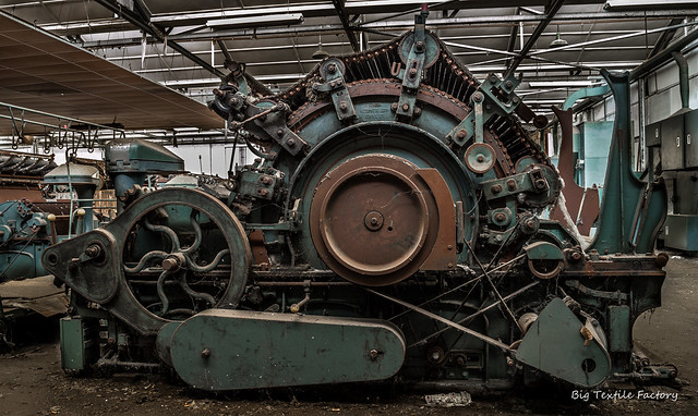Wool Ripper Machine from Flickr via Wylio