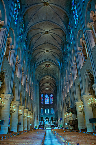 Notre Dame - interior 1