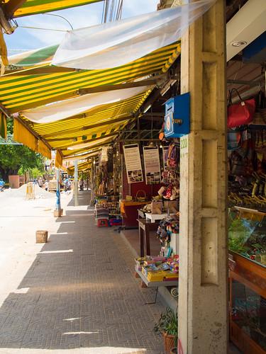 Old Market stalls