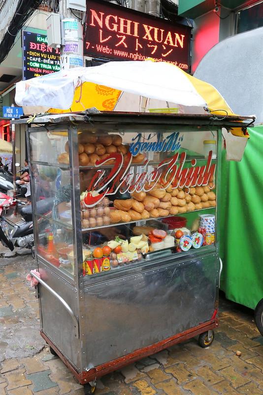 Banh Mi street stall