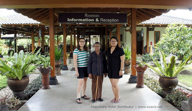Manohara Hotel Borobudur, Yogyakarta - with hostess